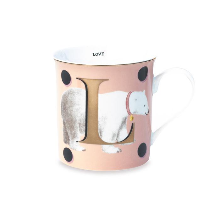 Initial Love Mug - Buy Online UK