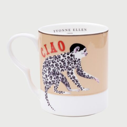 Yvonne Ellen Mugs - Ciao Monkey Design