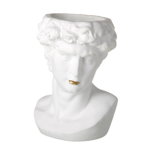 Greek Statue Head Planter - Buy Online UK