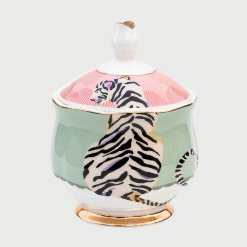 Tiger Design Yvonne Ellen Sugar Bowl