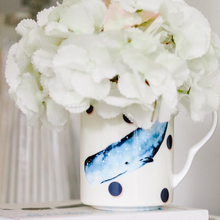 Yvonne Ellen Whale Mug - Buy Online UK