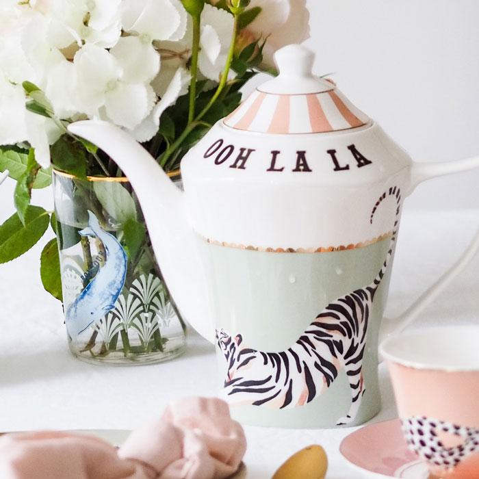Yvonne Ellen Teapot Tiger - Buy Online UK