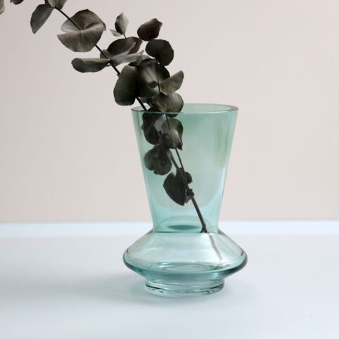 Green Glass Vase - Buy UK