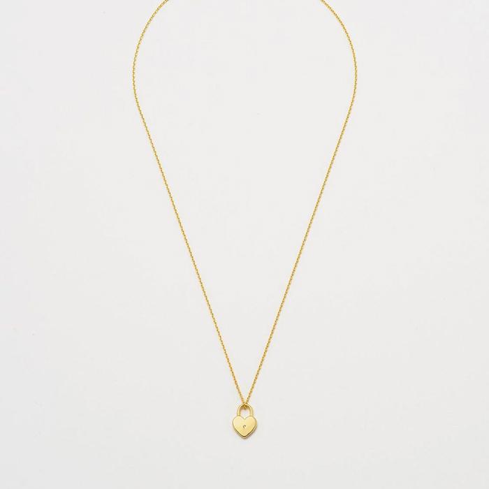 Heart Lock Necklace Buy online UK