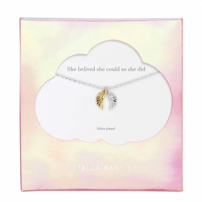 Angel Wing Necklace Estella Bartlett - Buy Online UK