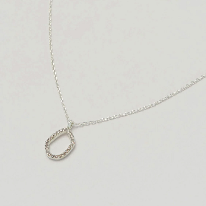 Silver Plated Round Necklace - Buy Online UK