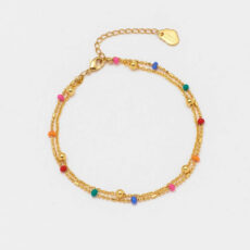 Rainbow Bead Bracelet - Buy Online UK