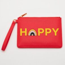 Estella Bartlett Happy Coral Pouch