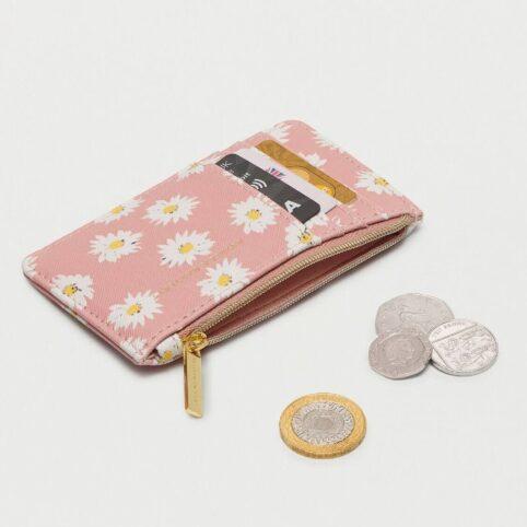 Estella Bartlett Daisy Card Purse - Blush