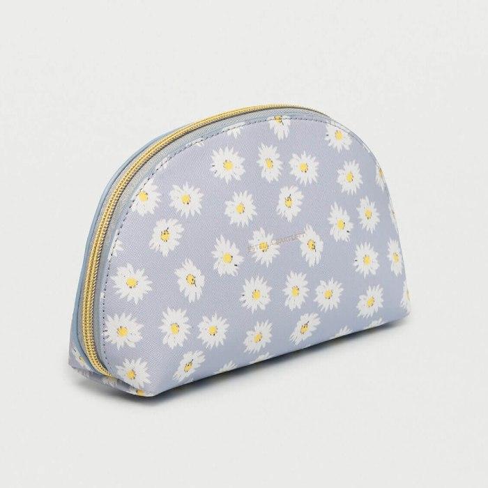 Estella Bartlett Daisy Print Makeup Bag