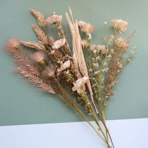 Meadow Faux Flowers Bouquet - Buy Online UK