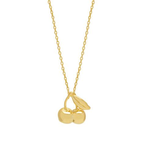 Gold Cherries Necklace Estella Bartlett - Buy Online UK