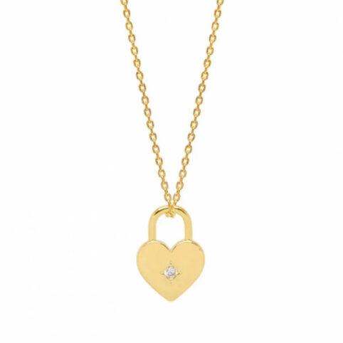 Heart Padlock Necklace Estella Bartlett