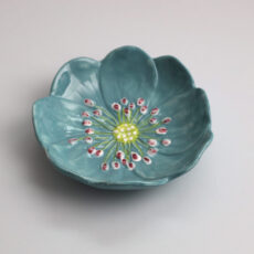Klevering Blue Flower Bowl - Purchase online with free UK delivery over £20