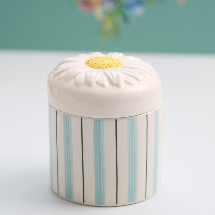 Klevering Daisy Storage Jar