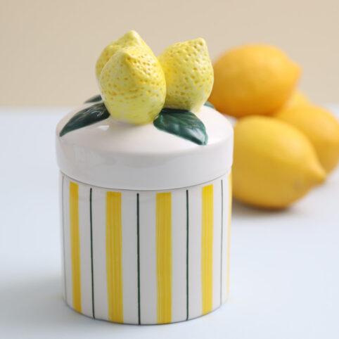 Klevering Lemon Storage Jar