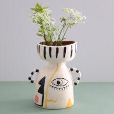 Gisela Graham Modernist Vase