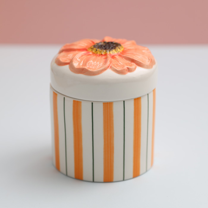 Klevering Dahlia Storage Jar - Buy online with free UK delivery