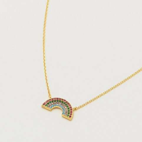 Estella Bartlett Rainbow Necklace - Buy Online UK