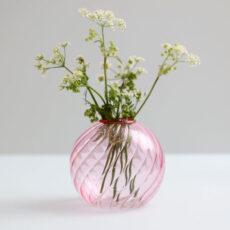 Klevering Pink Spiral Vase