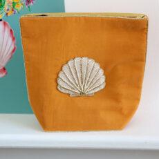 Large Velvet Cosmetic Bag - Buy Online UK