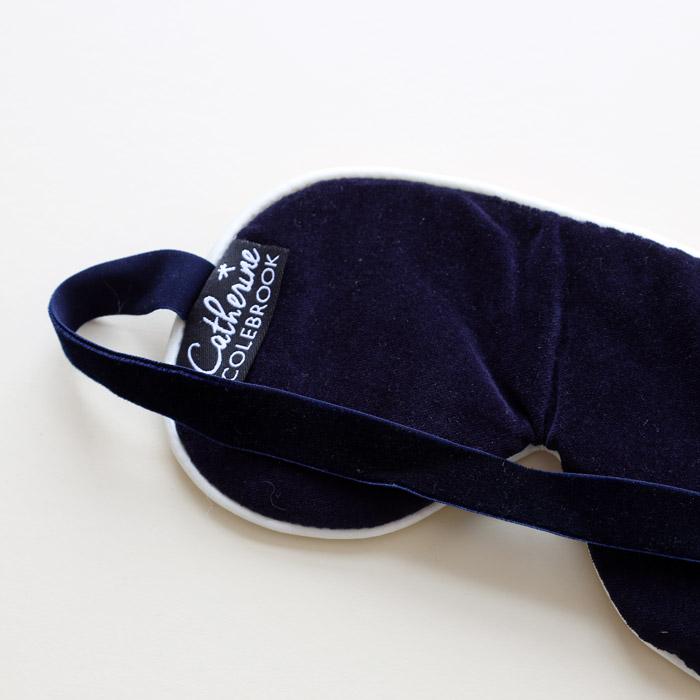 Lavender Liberty Print Eye Mask - Buy Online UK