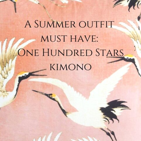 A summer outfit must have - one hundred stars kimono Source Lifestyle Blog