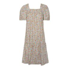 Square Neck Floral Dress from Vero Moda. Buy online with free delivery over £20
