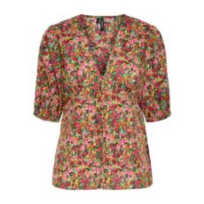 Vero Moda Floral Fitted Top - Free UK Delivery Wehn Buy Online UK