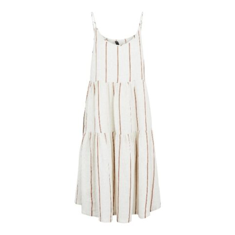 YAS Stripe Strap Dress With Free UK Delivery Over £20