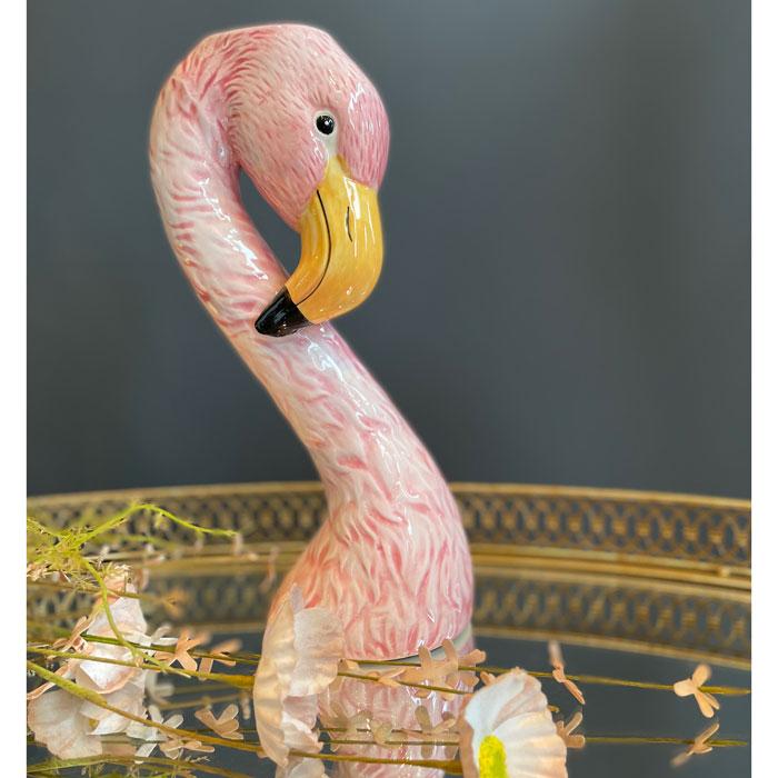 Pink Flamingo Vase - Buy Online UK