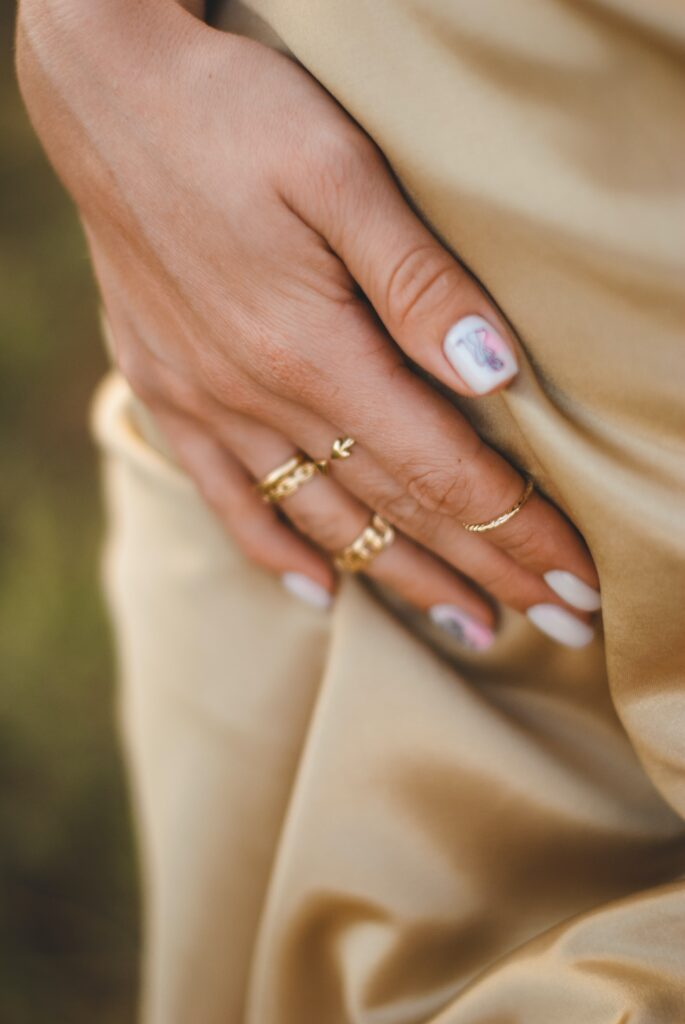 Ring stacking summer jewellery trends 2021