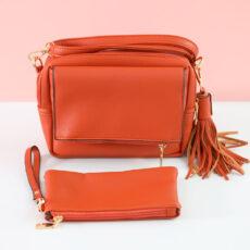 Faux Leather Crossbody Bag - Buy Online UK