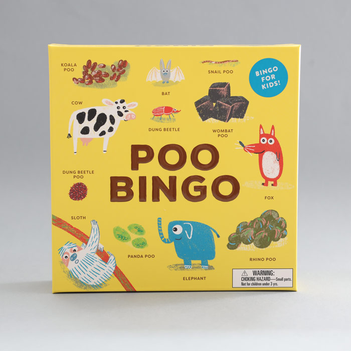 Poo Bingo Game - Have Fun With All The Family. Buy Online UK