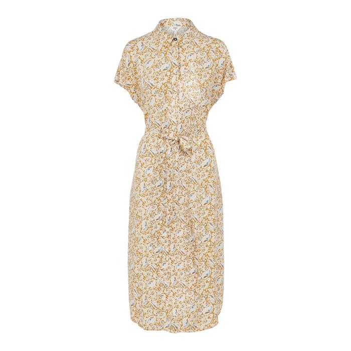 Yellow Mustard Midi Dress - Buy Online UK