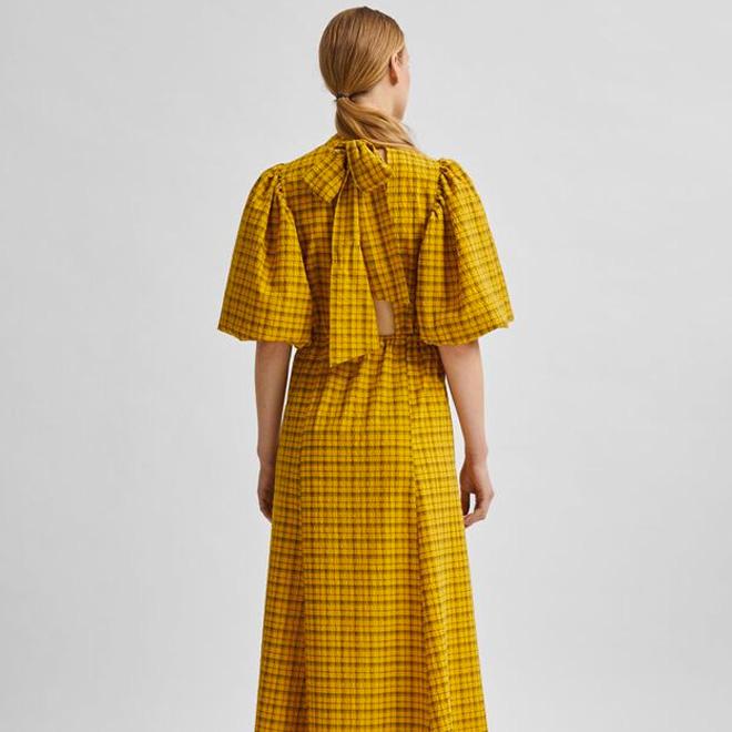 Selected Femme Checked Dress - Buy Online UK