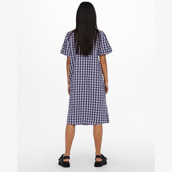Check Summer Dress Knee Length - Buy online UK