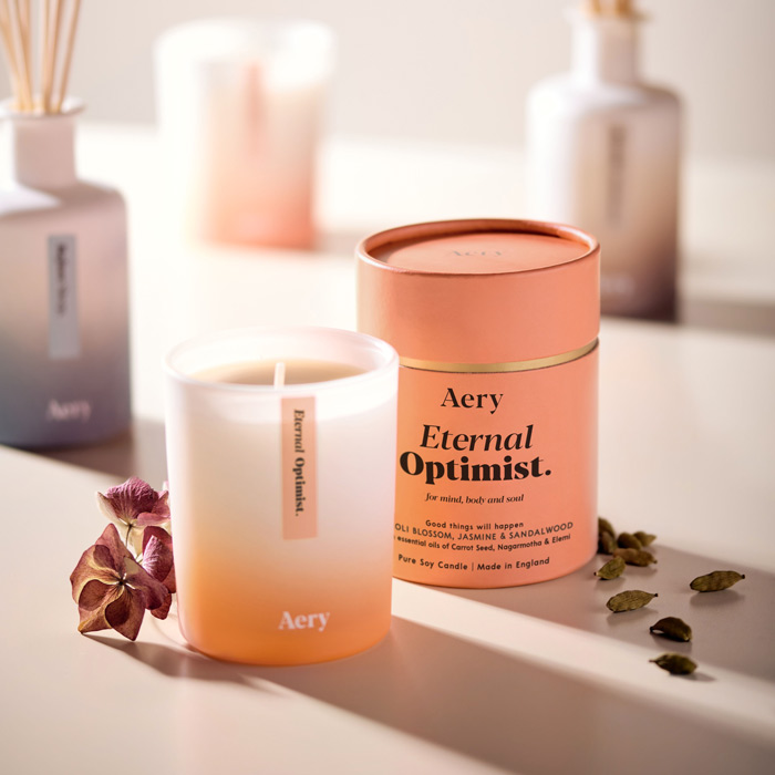 Eternal Optimist Candle from Aery - Buy Online UK