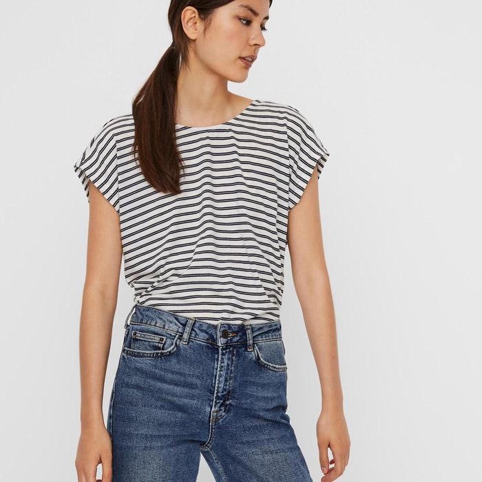 Navy Striped T-Shirt from Women - Buy online UK