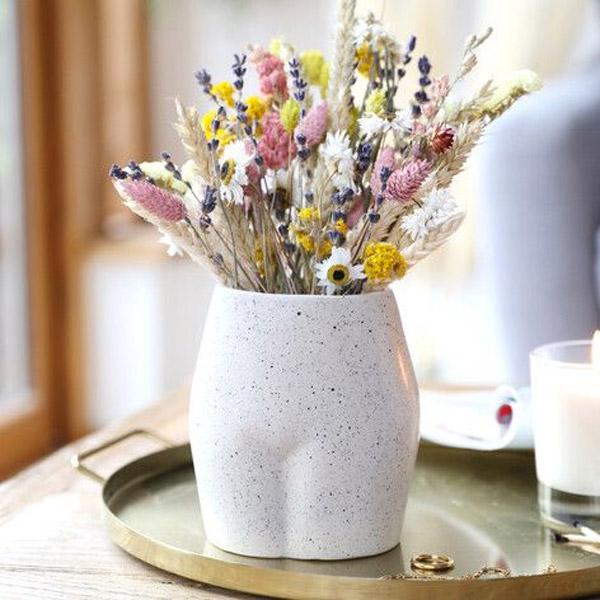 Small Speckled Bum Vase UK - Buy Online