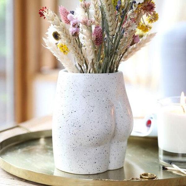 Speckled Bum Small Vase - Buy Online UK