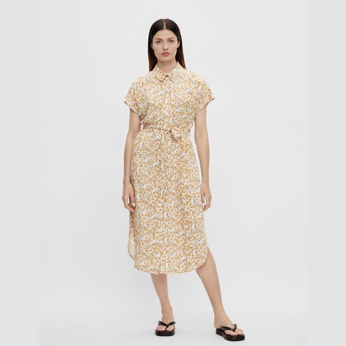 Short Sleeved Midi Dress from object - Buy Online UK