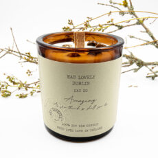 Eau Lovely Scented Candle With Gemstone - Buy Online UK