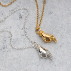 Hand Charm Necklace Scream Pretty - Buy Online UK