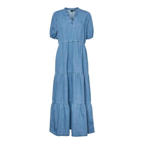 Denim Tiered Dress - Buy Online UK