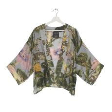 One Hundred Stars Kimono with a Botanical Print - Buy Online UK