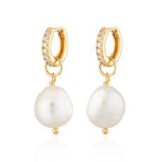 Faux Pearl Drop Earrings - Buy online UK