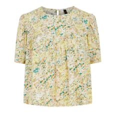 Stencil Floral Top YAS - Buy Online UK
