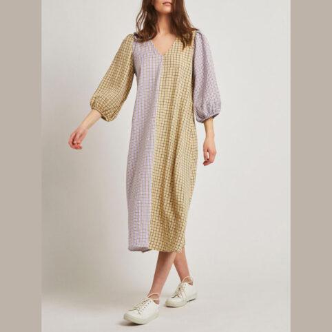 Vile Checked Midi Dress - Buy Online UK