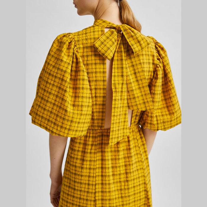Checked Dress Selected Femme - Buy Online UK